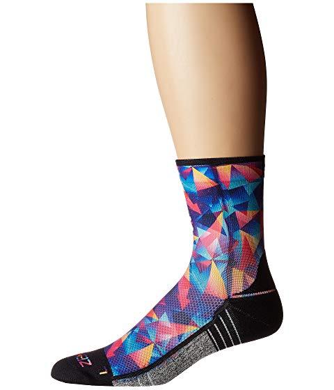 ZENSAH ソックス 靴下 インナー 下着 ナイトウエア ユニセックス 下 レッグ 【 Limited Edition Socks (mini Crew) 】 Retro Triangles