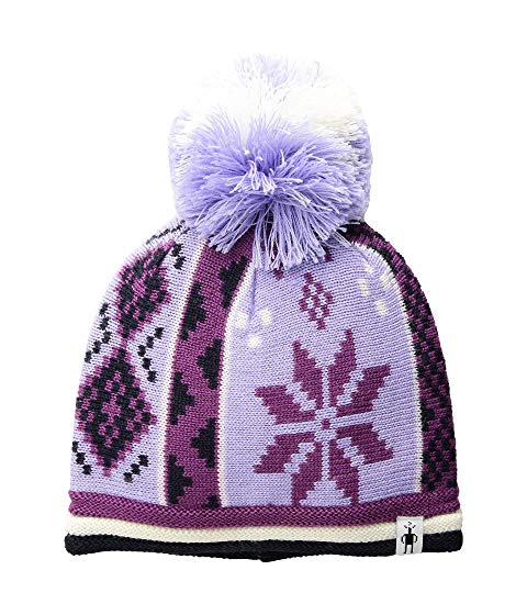 SMARTWOOL KIDS キャップ 帽子 キッズ ベビー マタニティ ジュニア 【 Snowflake Beanie (little Kids/big Kids) 】 Purple Mist Heather