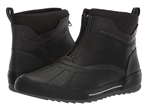 クラークス CLARKS スニーカー メンズ 【 Bowman Top 】 Black Waterproof Leather