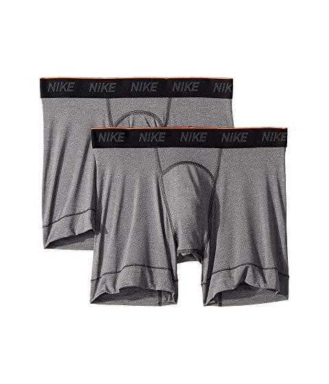 ナイキ NIKE インナー 下着 ナイトウエア メンズ 【 Brief Boxer 2-pair Pack 】 Anthracite/black/white