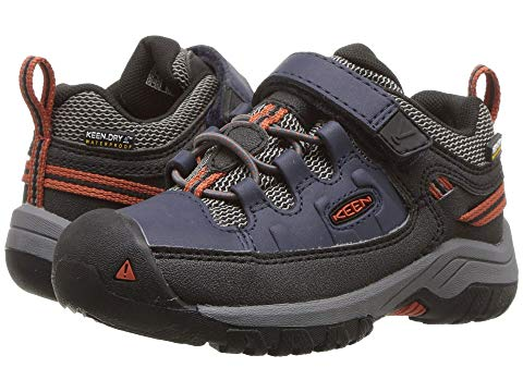 KEEN KIDS 【 TARGHEE LOW WP TODDLER LITTLE KID BLUE NIGHTS ROOBIOS 】 キッズ ベビー マタニティ 送料無料