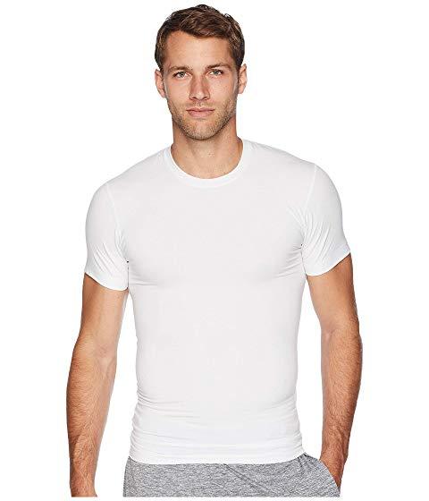ツーイグジスト 2(X)IST Tシャツ 白 ホワイト 【 WHITE 2 X IST FORM CREW NECK TEE 】 メンズファッション トップス Tシャツ カットソー