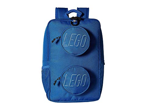 LEGO バックパック バッグ リュックサック 青 ブルー 【 BLUE LEGO BRICK BACKPACK 】 キッズ ベビー マタニティ バッグ ランドセル