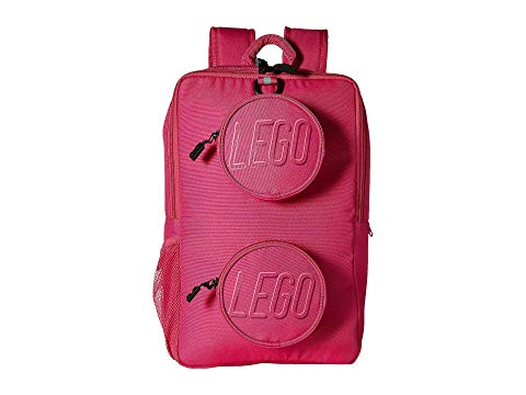 LEGO バックパック バッグ リュックサック ピンク 【 PINK LEGO BRICK BACKPACK 】 キッズ ベビー マタニティ バッグ ランドセル