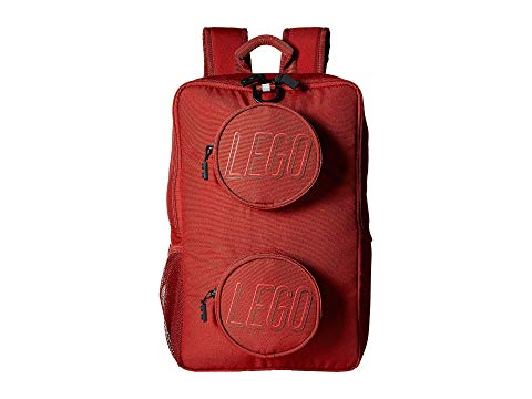 LEGO バックパック バッグ リュックサック キッズ ベビー マタニティ ランドセル ジュニア 【 Brick Backpack 】 Crimson