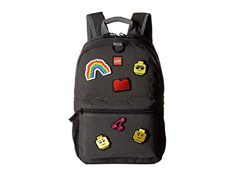 LEGO バックパック バッグ リュックサック キッズ ベビー マタニティ ランドセル ジュニア 【 Patch Backpack And Pouch With Assorted Patches 】 Grey