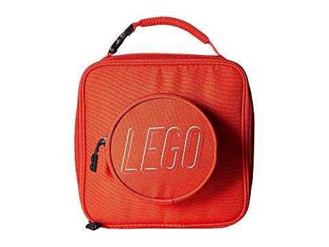 LEGO ランチ バッグ 赤 レッド 【 RED LEGO BRICK LUNCH BAG 】 キッズ ベビー マタニティ バッグ ランドセル
