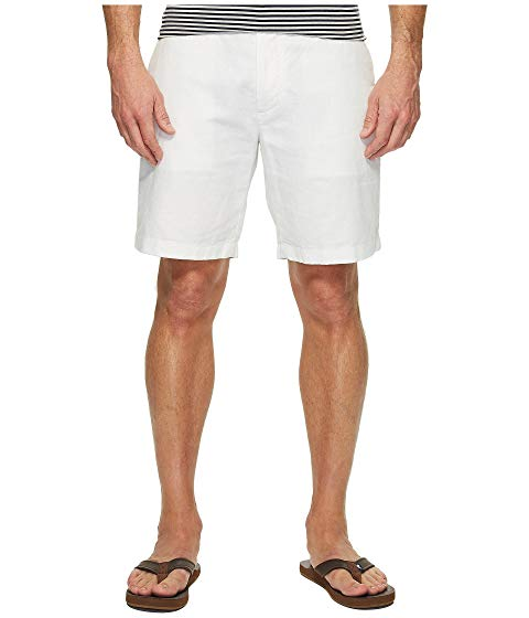 NAUTICA ショーツ ハーフパンツ メンズファッション ズボン パンツ メンズ 【 Linen Cotton Shorts 】 Bright White
