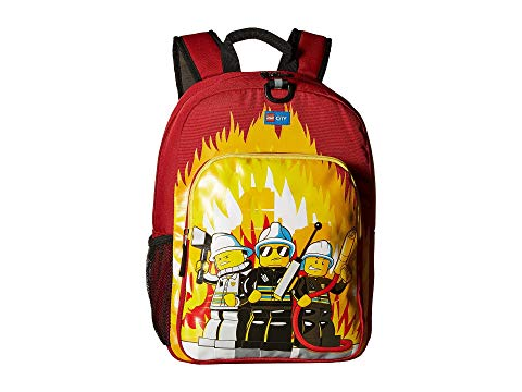 LEGO シティ クラシック バックパック バッグ リュックサック 赤 レッド 【 RED LEGO CITY FIRE HERITAGE CLASSIC BACKPACK 】 キッズ ベビー マタニティ バッグ ランドセル