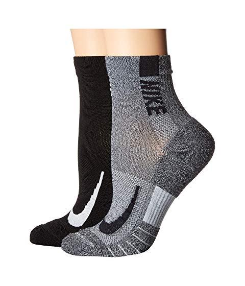 ナイキ NIKE ソックス 靴下 インナー 下着 ナイトウエア ユニセックス 下 レッグ 【 Multiplier Running Ankle Socks 2-pair Pack 】 Multicolor 2