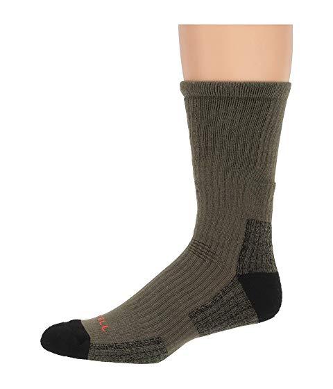 MERRELL インナー 下着 ナイトウエア メンズ 下 レッグ 【 Tactical Crew Sock 】 Olive