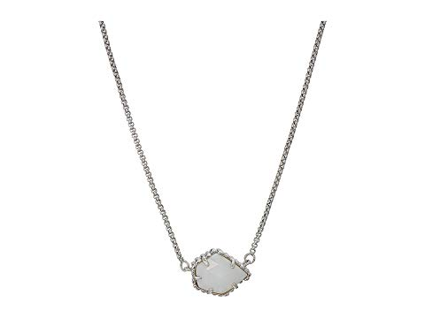 KENDRA SCOTT 【 TESS NECKLACE RHODIUM WHITE MOTHEROFPEARL 】 ジュエリー アクセサリー 送料無料