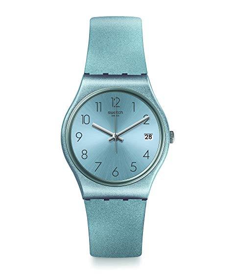 SWATCH 青 ブルー 【 BLUE SWATCH AZULBAYA GL401 】 腕時計 男女兼 腕時計