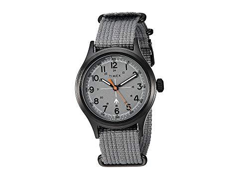 TIMEX タイメックス 灰色 グレ 黒 ブラック 【 BLACK TIMEX TODD SNYDER MILITARY 40MM GREY 】 腕時計 メンズ腕時計