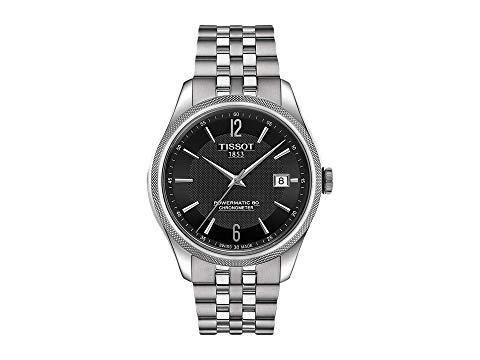 TISSOT 黒 ブラック GRAY灰色 グレイ 【 BLACK GREY TISSOT BALLADE POWERMATIC 80 COSC T1084081105700 】 腕時計 メンズ腕時計