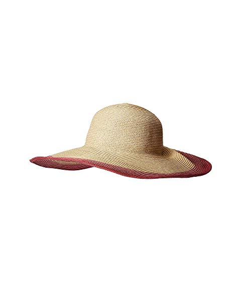 SAN DIEGO HAT COMPANY 【 SAN DIEGO HAT COMPANY UBL6822 ULTRABRAID SUN WITH GATHERED BACK AND KNOTTED TRIM BERRY 】 バッグ  キャップ 帽子 レディースキャップ 帽子