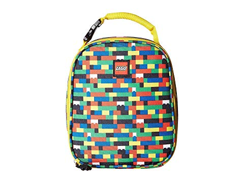 LEGO ランチ バッグ 【 LEGO BRICK WALL LUNCH BAG ASSORTED 】 キッズ ベビー マタニティ バッグ ランドセル