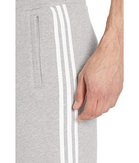 アディダスオリジナルス ADIDAS ORIGINALS ショーツ ハーフパンツ GRAY灰色 グレイ ヘザー 【 GREY HEATHER ADIDAS ORIGINALS 3STRIPES SHORTS MEDIUM 】 メンズファッション ズボン パンツ
