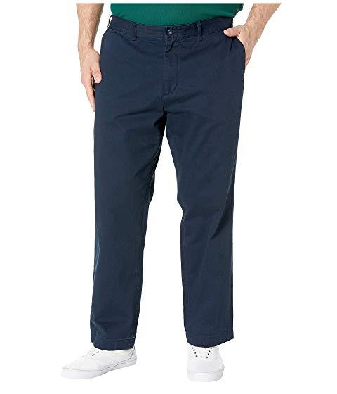 NAUTICA BIG & TALL パンツ 紺 ネイビー & 【 NAVY NAUTICA BIG TALL TRUE FLAT FRONT PANT 】 メンズファッション ズボン パンツ