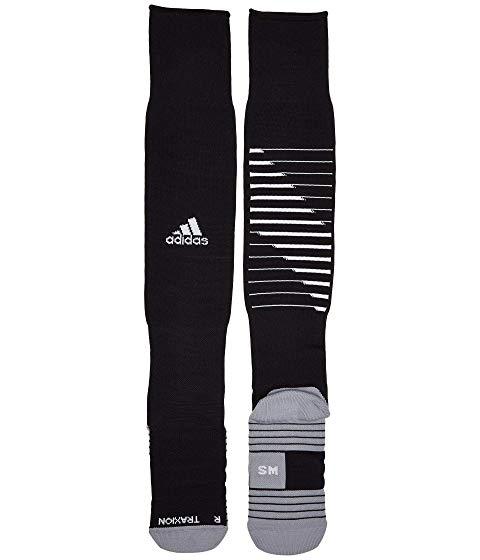 アディダス ADIDAS チーム スピード サッカー インナー 下着 ナイトウエア ユニセックス 下 レッグ 【 Team Speed Ii Soccer Otc Sock 】 Black/white/light Onix