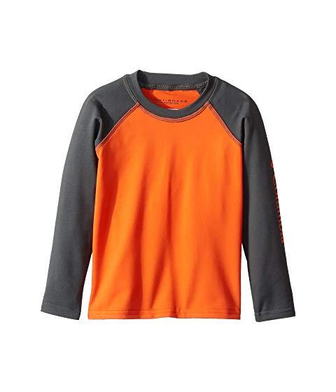 コロンビアキッズ COLUMBIA KIDS スリーブ Shores・・ キッズ ベビー マタニティ ジュニア 【 Sandy Shores・・ Long Sleeve Sunguard (toddler) 】 Tangy Orange/grill