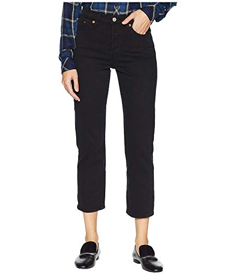 LEVI'S・・ PREMIUM プレミアム 黒 ブラック LEVI'S・・ 【 PREMIUM BLACK WEDGIE STRAIGHT HEART 】 メンズファッション ズボン パンツ
