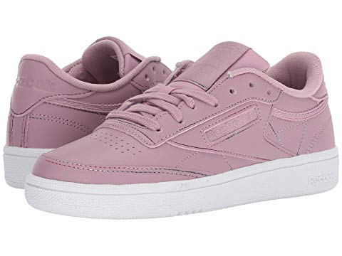 REEBOK LIFESTYLE リーボック クラブ 白 ホワイト 【 REEBOK WHITE LIFESTYLE CLUB C 85 INFUSED LILAC SPIRIT 】