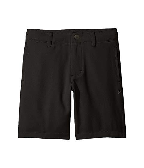 アンダーアーマー キッズ UNDER ARMOUR KIDS ゴルフ ショーツ ハーフパンツ キッズ ベビー マタニティ ボトムス ジュニア 【 Golf Medal Play Shorts (little Kids/big Kids) 】 Black