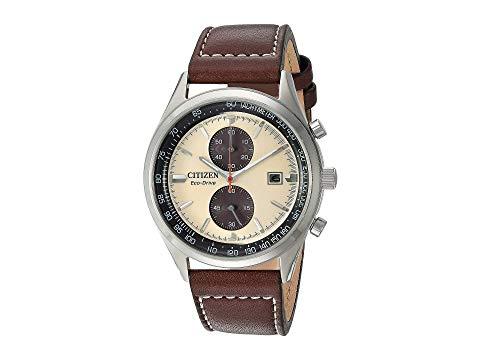 シチズンウオッチ CITIZEN WATCHES 茶 ブラウン 【 BROWN CITIZEN WATCHES CA702007A CHANDLER 】 腕時計 メンズ腕時計