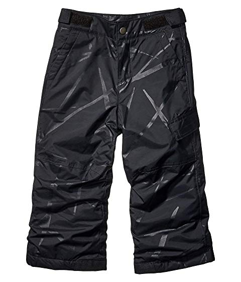【NeaYearSALE1/1-1/5】コロンビアキッズ COLUMBIA KIDS スパイダー SLOPE? 【 ICE II PANTS TODDLER BLACK SPIDER STREETS EMBOSS 】 キッズ ベビー マタニティ ボトムス 送料無料