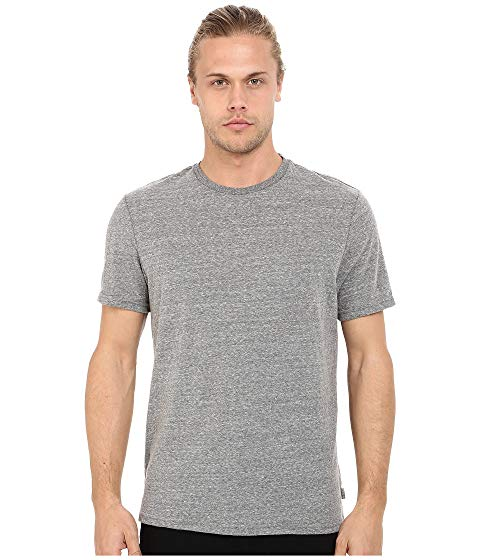THREADS 4 THOUGHT バセリン Tシャツ ヘザー 灰色 グレ 【 BASELINE HEATHER THREADS 4 THOUGHT TRIBLEND CREW TEE GREY 】 メンズファッション トップス Tシャツ カットソー