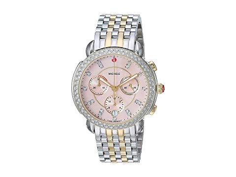 MICHELE ローズ 【 ROSE MICHELE SIDNEY MWW30A000047 TWOTONE DESERT MOTHEROFPEARL DIAL 】 腕時計 レディース腕時計