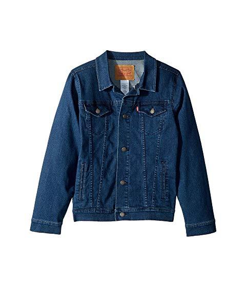 LEVI'S・・ KIDS トラッカー キッズ ベビー マタニティ コート ジュニア 【 Trucker Jacket (big Kids) 】 Two-tone