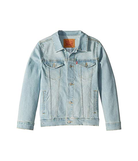 LEVI'S KIDS トラッカー LEVI'S 【 KIDS TRUCKER JACKET BIG YOSEMITE FALLS 】 キッズ ベビー マタニティ コート