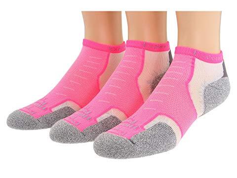 THORLOS ミクロ インナー 下着 ナイトウエア ユニセックス 下 レッグ 【 Experia Micro Mini 3-pair Pack 】 Electric Pink