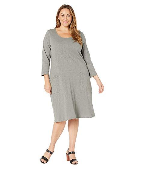 FRESH PRODUCE ドレス レディースファッション ワンピース レディース 【 Plus Size Dalia Dress 】 Shadow