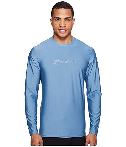 【海外限定】スキンズ 長袖 ロングスリーブ Tシャツ メンズファッション 水着 【 SKINS BASIC L S RASH TEE 】