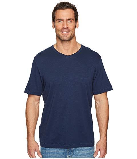 TOMMY BAHAMA ブイネック Tシャツ メンズファッション トップス カットソー メンズ 【 Portside Palms V-neck T-shirt 】 Maritime