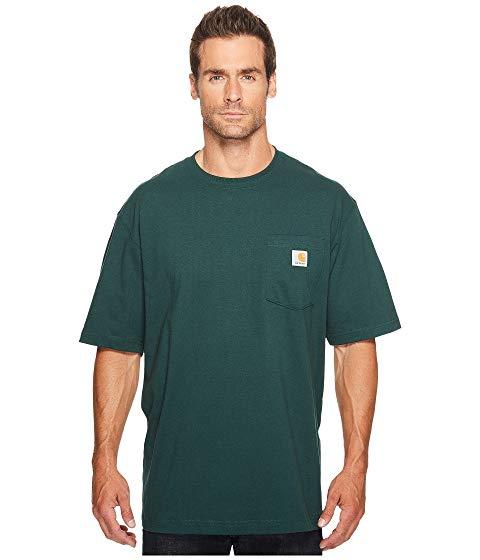 カーハート CARHARTT 半袖 Tシャツ 緑 グリーン 【 GREEN CARHARTT WORKWEAR POCKET S TEE K87 HUNTER 】 メンズファッション トップス Tシャツ カットソー