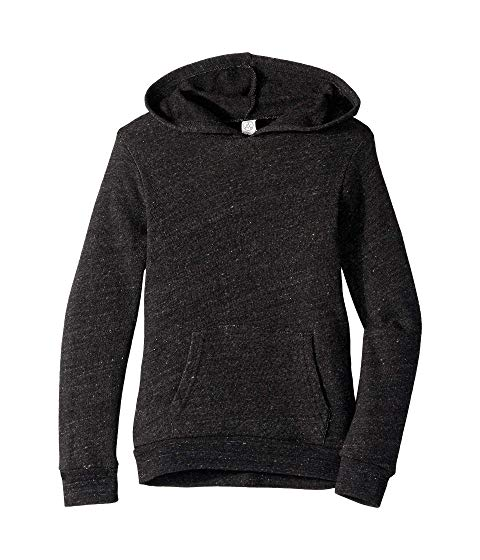 ALTERNATIVE KIDS キッズ ベビー マタニティ トップス ジュニア 【 Challenger Eco-fleece Pullover Hoodie (big Kids) 】 Eco Black