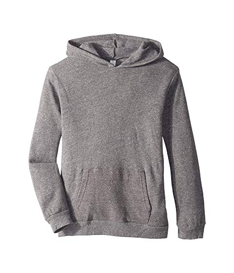 ALTERNATIVE KIDS キッズ ベビー マタニティ トップス ジュニア 【 Challenger Eco-fleece Pullover Hoodie (big Kids) 】 Eco Grey