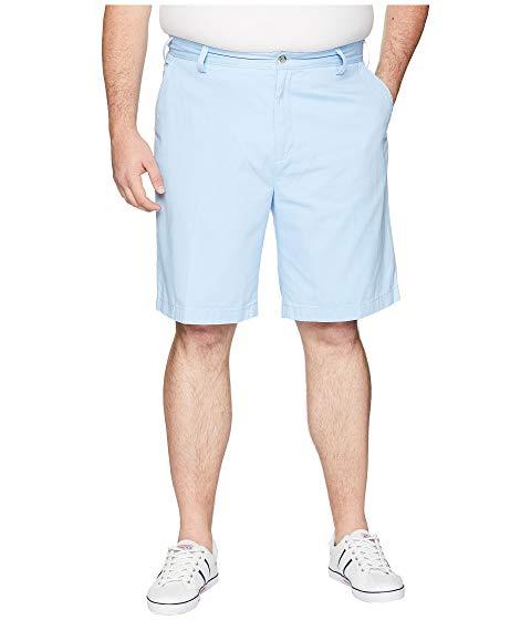 NAUTICA BIG & TALL 青 ブルー & 【 BLUE NAUTICA BIG TALL DECK SHORT NOON 】 メンズファッション ズボン パンツ
