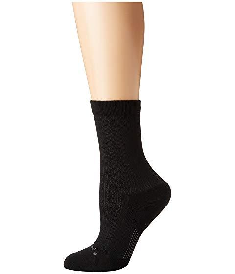 FEETURES テクスチャー インナー 下着 ナイトウエア ユニセックス 下 レッグ 【 Texture Cushion Crew Sock 】 Black
