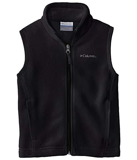 コロンビアキッズ COLUMBIA KIDS フリース ベスト Mountain・・ キッズ ベビー マタニティ トップス Tシャツ ジュニア 【 Steens Mountain・・ Fleece Vest (little Kids/big Kids) 】 Black