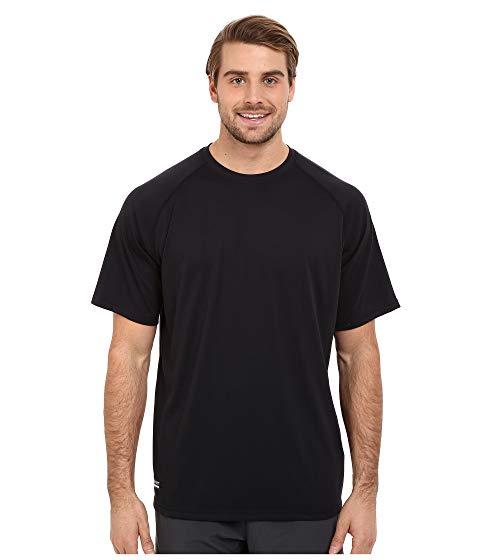 アンダーアーマー UNDER ARMOUR テック Tシャツ 黒 ブラック 【 BLACK UNDER ARMOUR UA TAC TECH TEE 】 メンズファッション トップス Tシャツ カットソー