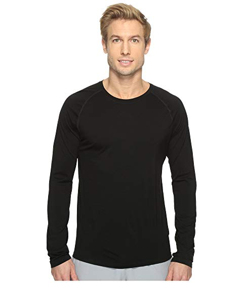 SMARTWOOL スリーブ 黒 ブラック 【 SLEEVE BLACK SMARTWOOL MERINO 150 BASELAYER LONG 】 メンズファッション トップス