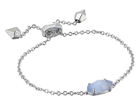 KENDRA SCOTT 【 EVERLYNE BRACELET RHODIUM SLATE CATS EYE 】 ジュエリー アクセサリー 送料無料