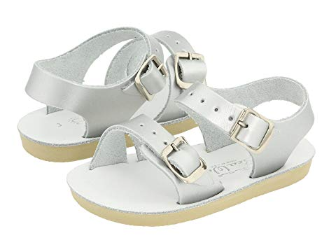 SALT WATER SANDAL BY HOY SHOES キッズ ベビー マタニティ ジュニア 【 Sun-san - Sea Wees (infant/toddler) 】 Silver