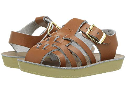 SALT WATER SANDAL BY HOY SHOES キッズ ベビー マタニティ ジュニア 【 Sun-san - Sailors (infant/toddler) 】 Tan