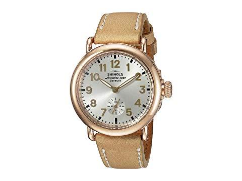 SHINOLA DETROIT デトロイト 銀色 シルバー ナチュラル 【 SILVER SHINOLA DETROIT THE RUNWELL 36MM 10000246 NATURAL 】 腕時計 レディース腕時計